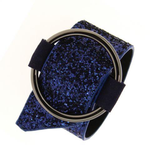 Bracelet manchette paillette Dymphna