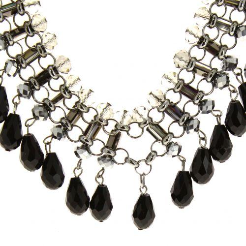 Collier pendants à perles Alania