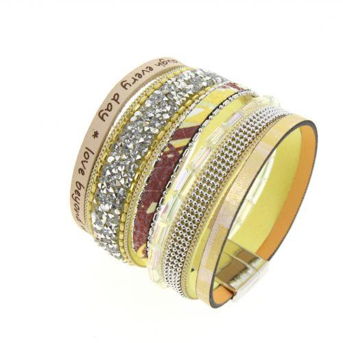 Bracelet manchette ABISHA