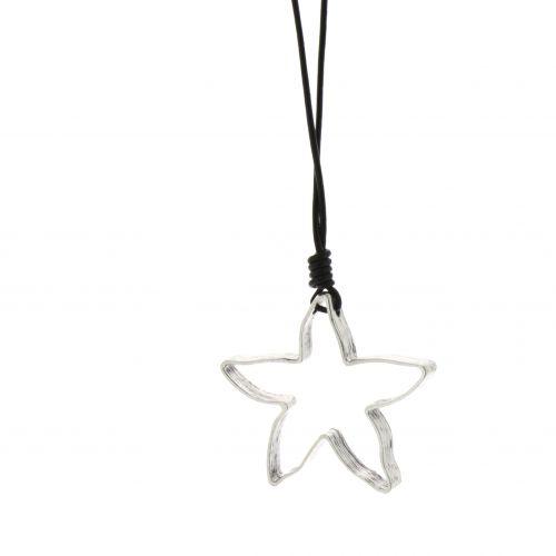 Collier, sautoir étoile oversize Ornella