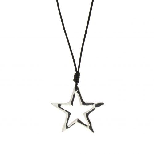 Collier, sautoir étoile oversize Maliah
