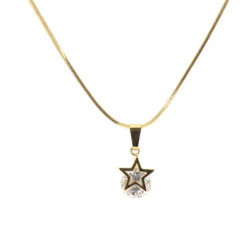 Collier pendentif étoile Manal