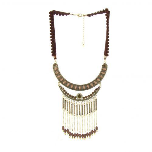Collier pendants à chaines Lison
