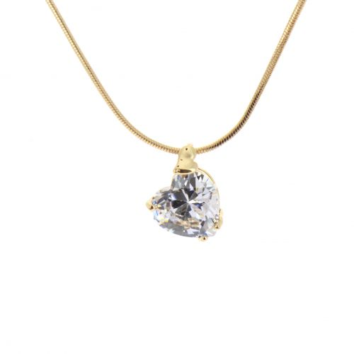 Collier à pendentif Coeur Shanna