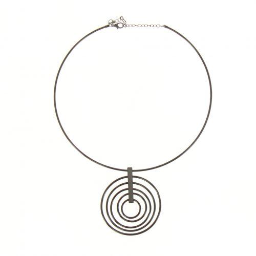 Collier anneau MADELINE