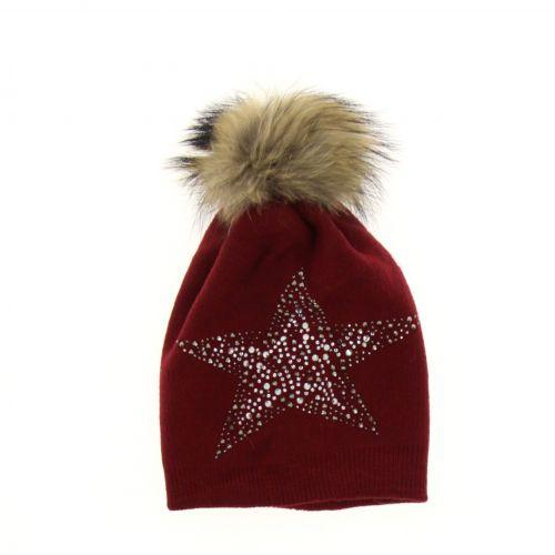 KORAMEN Fur beanie hat