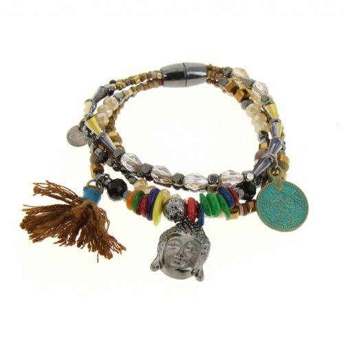 Bracelet extensible ethnique Celynin