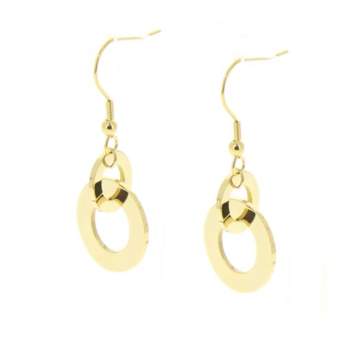 fashion Earring Stainless steel HOUMEYRA