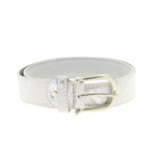 Woman leather lined belt, OONA