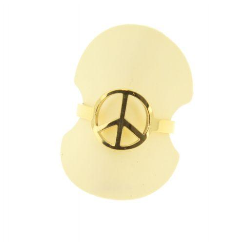 """Damen ringe edelstahl """"Frieden und Liebe"""" YNESS"""
