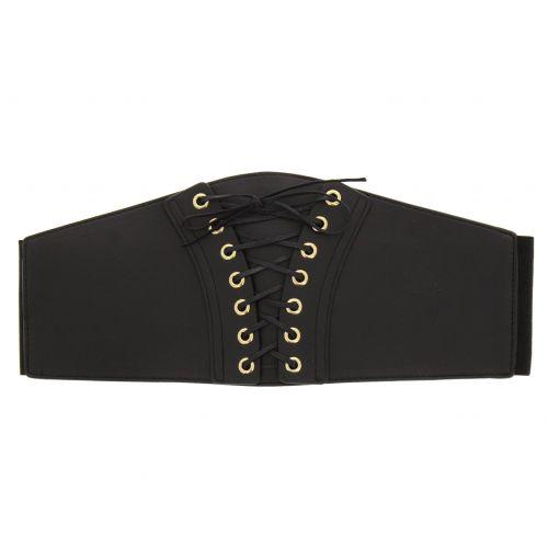 cintura di pelle corsetto Sachka