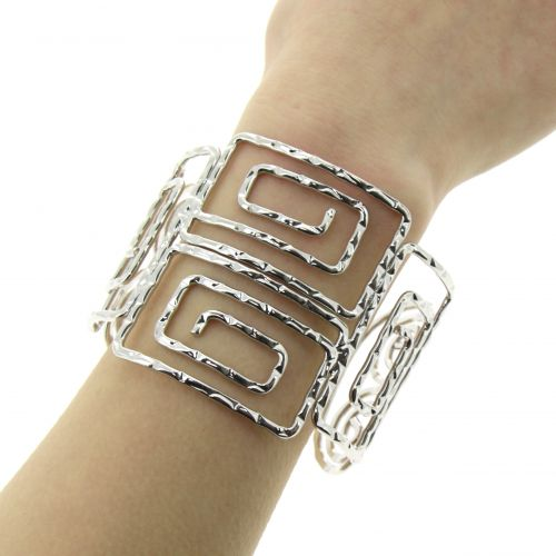 Bracelet cuff metal FYONA