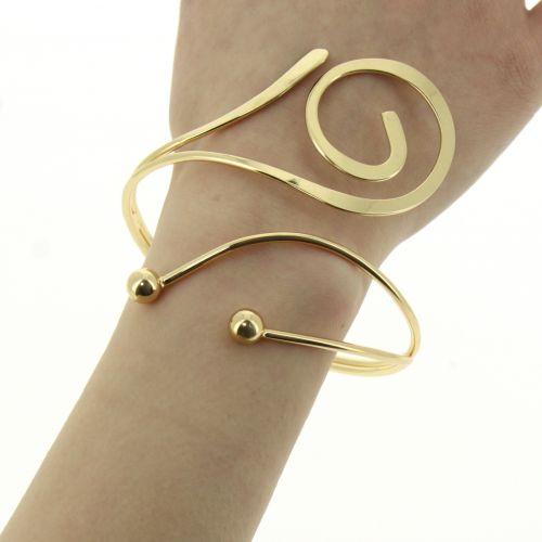 Bracelet cuff metal HATICE