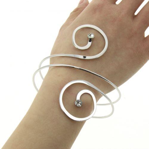 Bracelet manchette métal ILAYDA