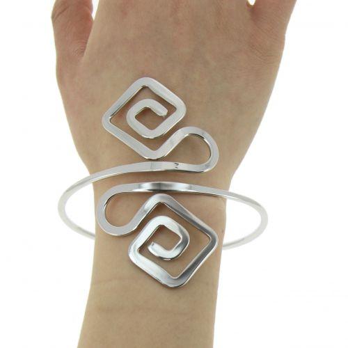 Bracelet cuff metal MELIYA