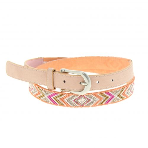 SYBILLE, leather lined belt