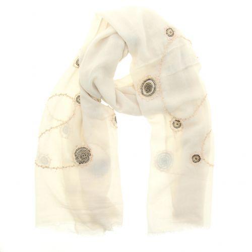 Echarpe oversize coton LAETICIA