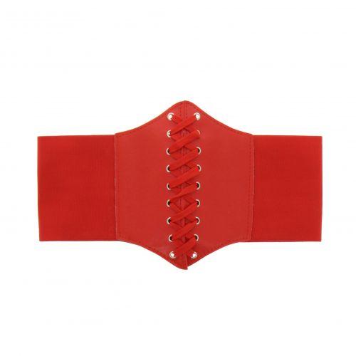 Elastische breiter Damen Gürtel Korsett Taillengürtel, SOANA