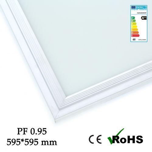 Panneau LED 60 x 60 cm 36w - 4000 lumens