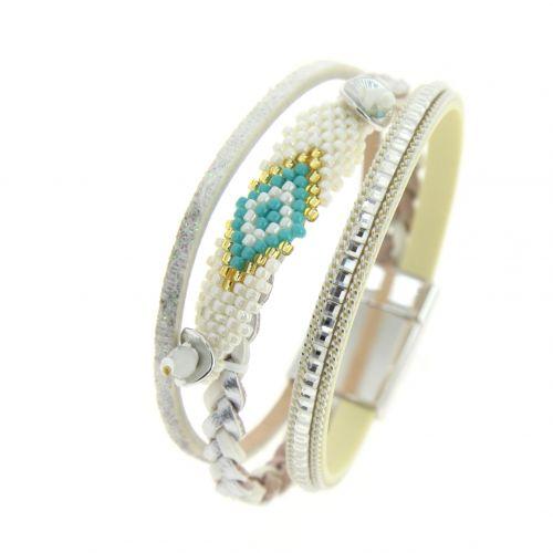 Bracelet manchette EMILINE