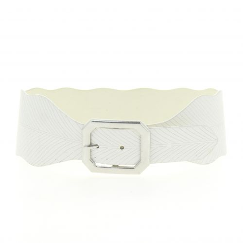 waistband wide faux leather belt, SOFIE