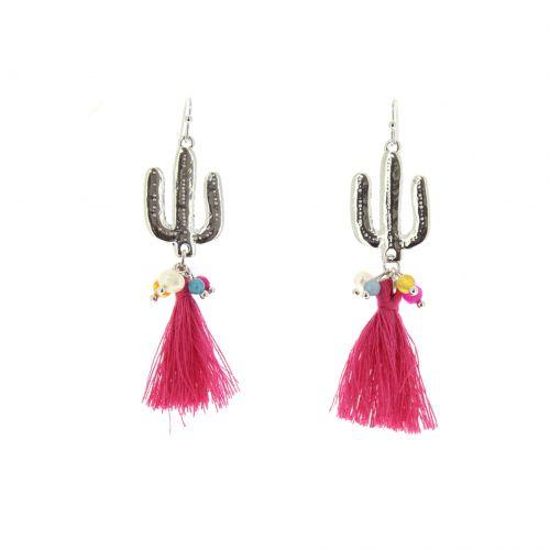 Tassel, drop, dangling woman Earring ASSILA