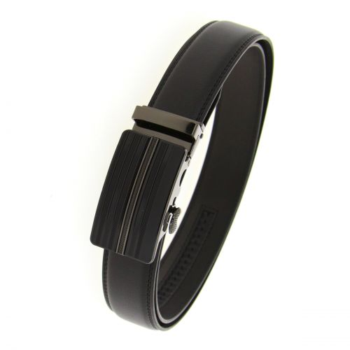 Leather Automatic Buckle Belt PIERRE