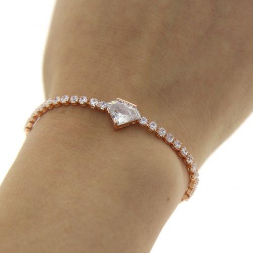 Bracelet adjustable rhinestone MANELLE