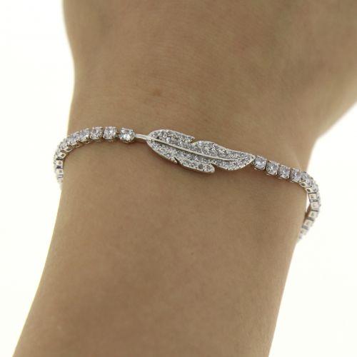 Bracelet à strass adjustable MIYA