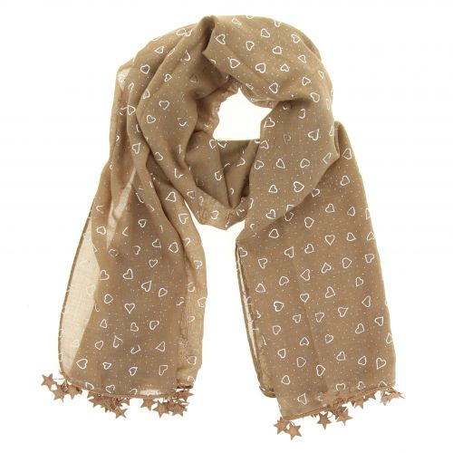 Echarpe oversize coton Valentine