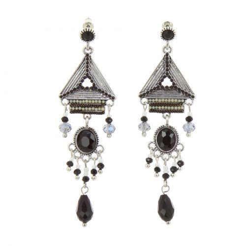 Boucles d'oreilles pendantes à perles Wendy