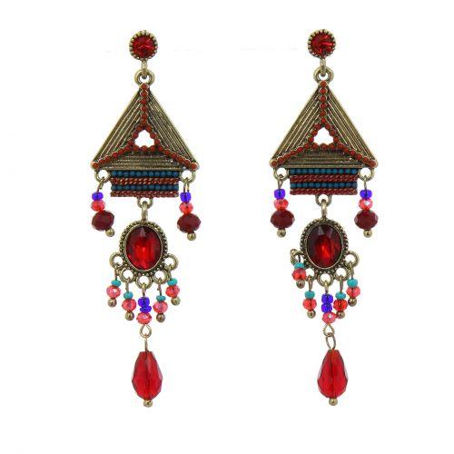50mm Gerda creole earrings