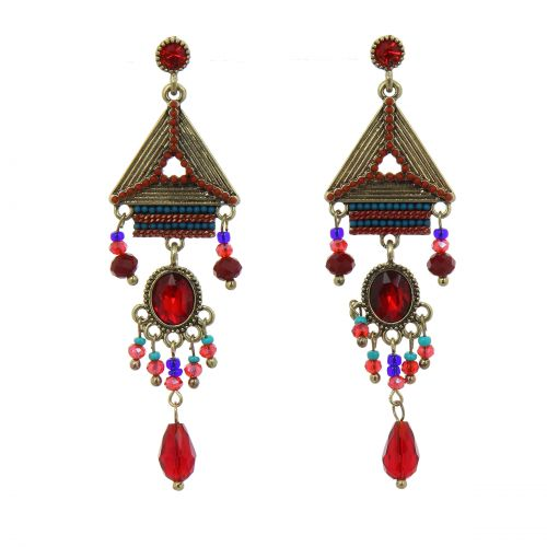Stainless Stell 70 mm Creole earrings, ANAYA