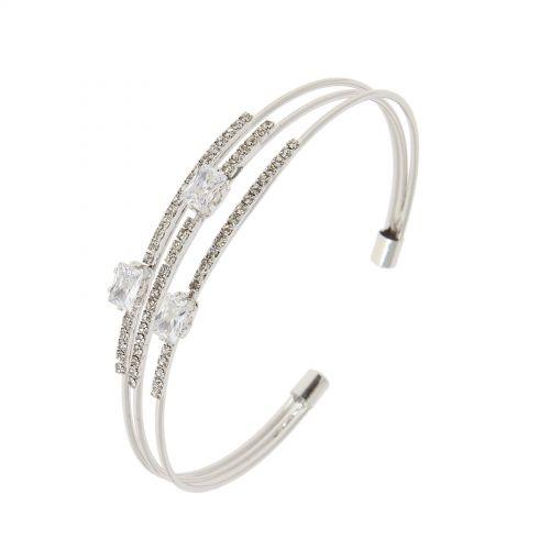 Bracelet 3 cubic zirconium OPHELY