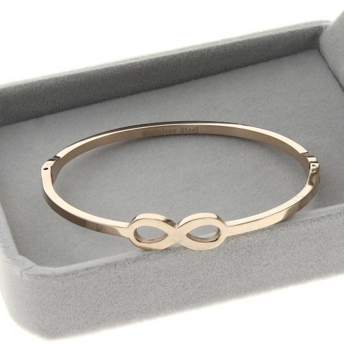 Bracelet acier inoxydable Infini, EMMI