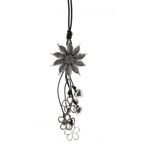Collier, sautoir oversize Fleur AELA