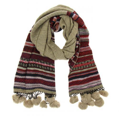 Echarpe oversize laine Beryl
