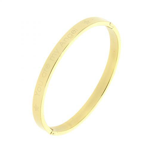 Stainless steel bracelet, KHALIFA