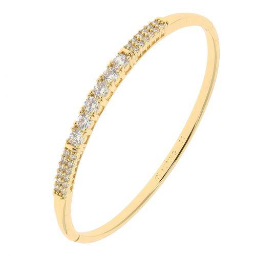 Crystal of zirconium women Bracelet, KSENIA