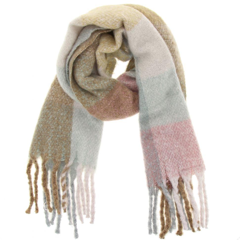 miglior sito web c0b6d 489ca Grande sciarpa scialle di lana donna, CELIA