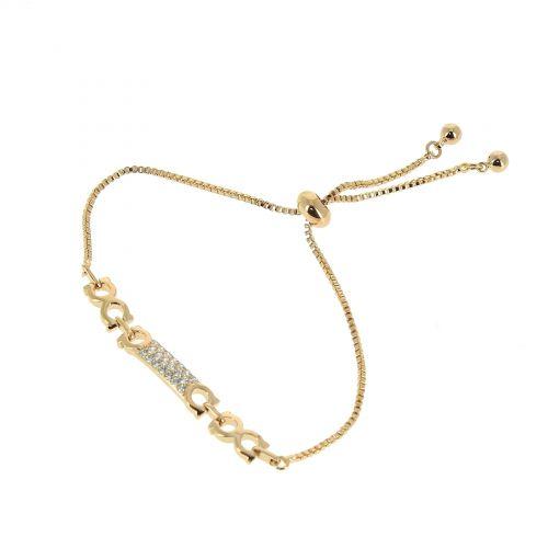 Bracelet à strass adjustable Strass ELIF