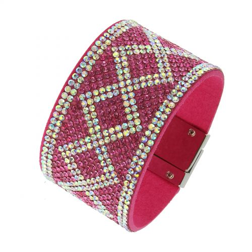 Fashion bracelet with zirconia ANNICK