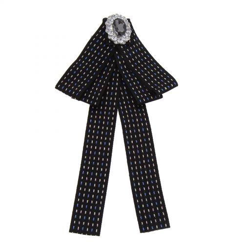 Broche, corbata de mujer, YVANIE