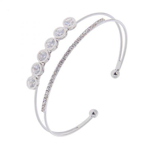 Bracelet femme Strass, Cristal de Zirconium LAORA