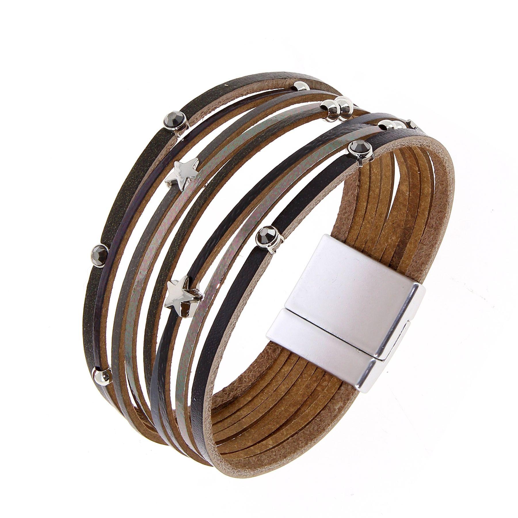 grossiste bracelet cuir homme