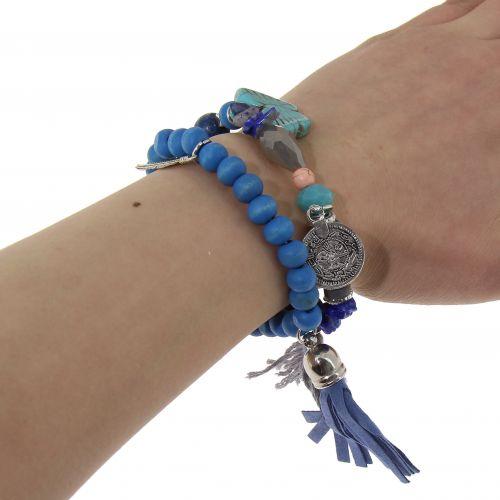 Bracelet extensible ethnique Lily