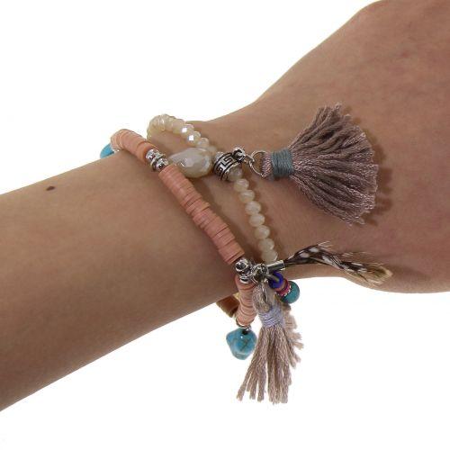 Bracelet extensible ethnique Louane