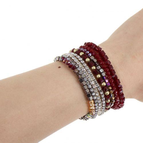 Bracelet ethnic rhinestone AUDELIN