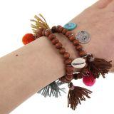 Bracelet extensible ethnique Anya