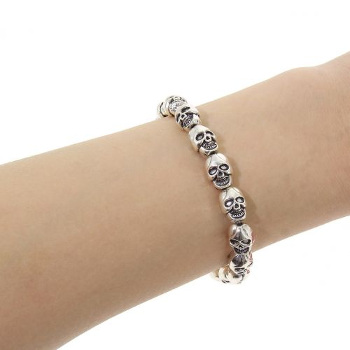 Bracelet expandable with skull MARGARET
